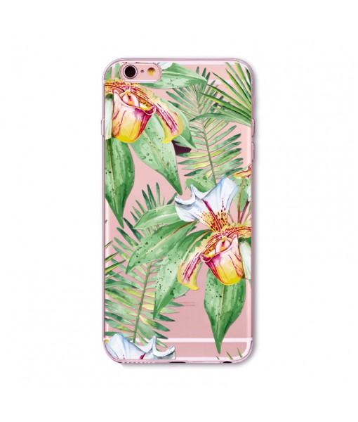 "Husa iPhone 6 / 6S ""ISLAND FLOWERS"""