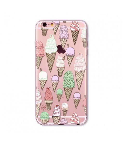 "Husa iPhone 6 / 6S ""ICE CREAM MADNESS"""