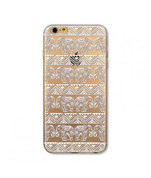 "Husa iPhone 6 / 6S ""HENNA ELEPHANT PATTERN"""