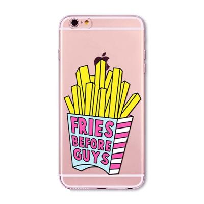 "Husa iPhone 6 / 6S ""FRIES BEFORE GUYS"""