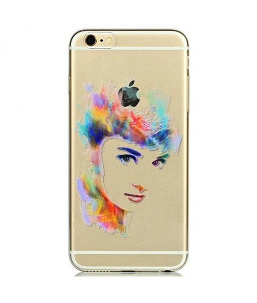 "Husa iPhone 6 / 6S  ""The Audrey Hepburn Colors"""