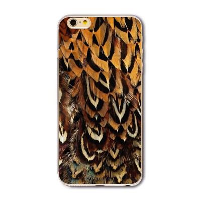 "Husa iPhone 6 / 6S  ""SKIN FEATHERS"""