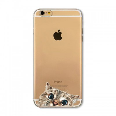 "Husa iPhone 6 / 6S ""CURIOUS CAT"""