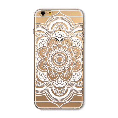 "Husa iPhone 6 / 6S ""HENNA BLOOMING FLOWER"""
