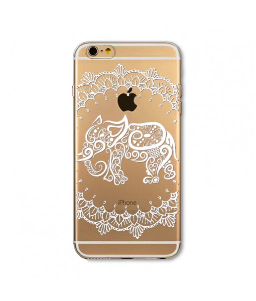 "Husa iPhone 6 / 6S ""HENNA ELEPHANT"""