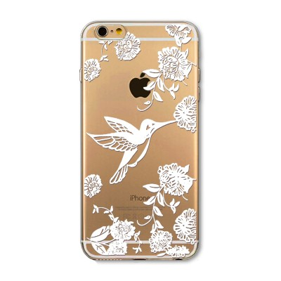 "Husa iPhone 6 / 6S ""FLYING HUMMINGBIRD"""