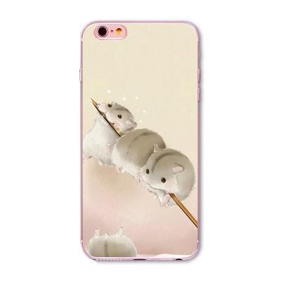 "Husa iPhone 6 / 6S  ""CHIPMUNKS ON A STICK"""