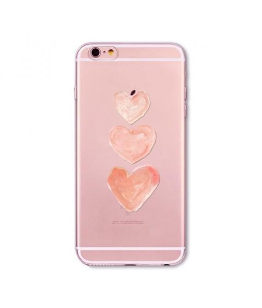 "Husa iPhone 6 / 6S ""HEARTS 3"""