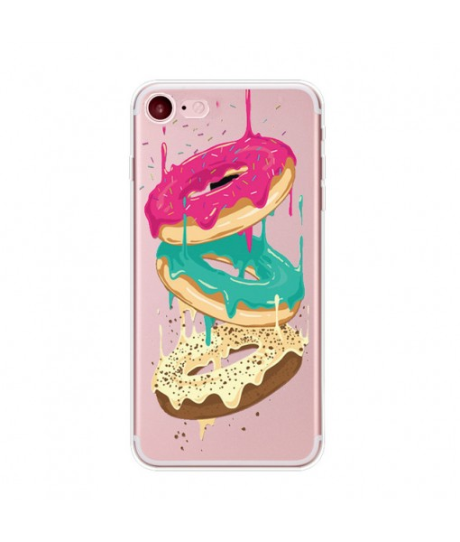 "Husa iPhone 6 / 6S ""DONUTS COLORS"""