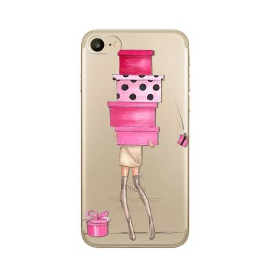 Husa iPhone 7 / iPhone 8 Silicon Premium SHOPPING MY LOVE