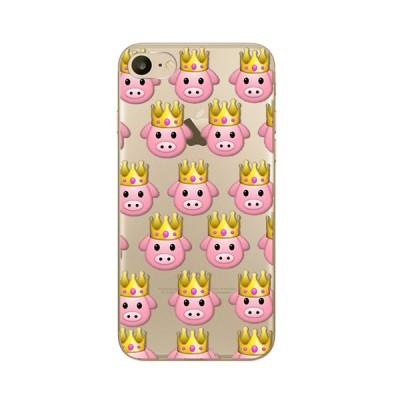 Husa iPhone 7 / iPhone 8 Silicon Premium QUEEN PIGGY