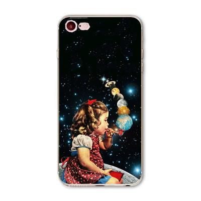 "Husa iPhone 7 / iPhone 8 ""GALAXY BUBBLES"""