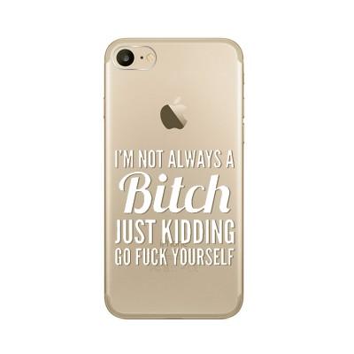 """Husa iPhone 7 / iPhone 8 """"BITCHY"""""""
