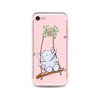 "Husa iPhone 7 / iPhone 8 ""HAPPY BABY ELEPHANT"""