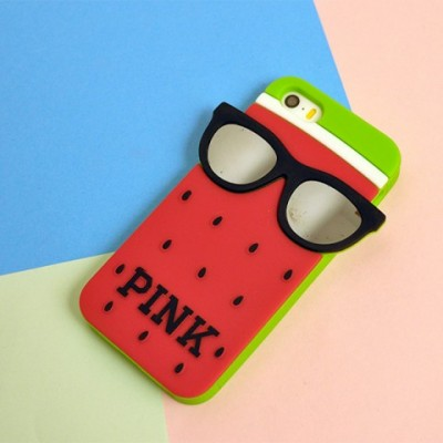 "Husa iPhone 5 / 5S / 5SE - VICTORIA'S SECRET ""PINK"" RED WATERMELON"